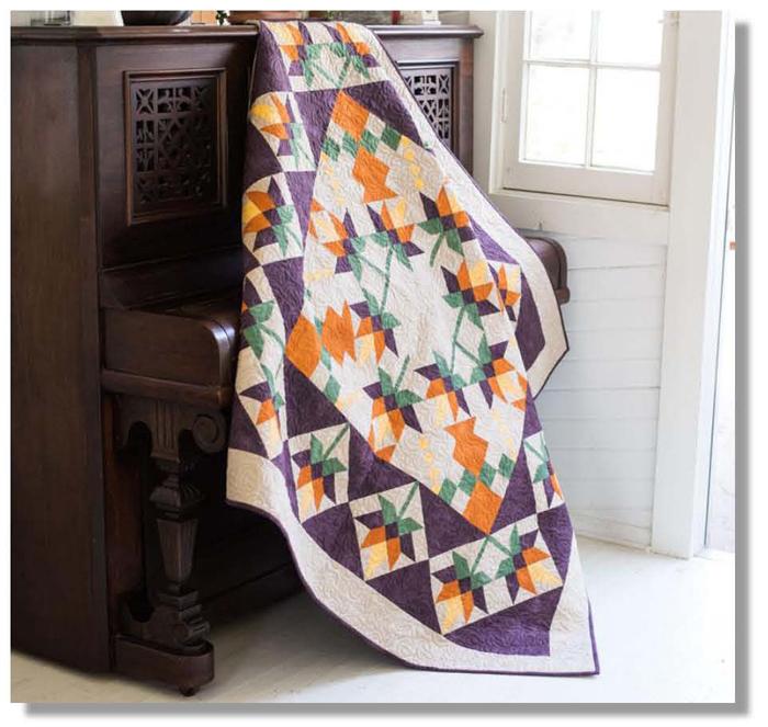 September Sunrise Quilt Pattern Dcm 044 Advanced Beginner