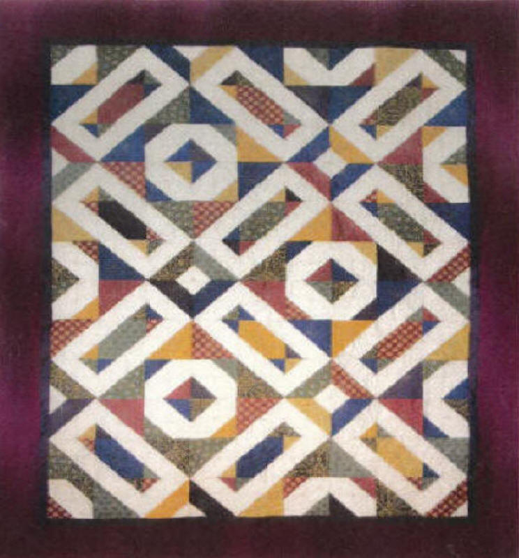 Unchained Memories Quilt Pattern Aeq 11 Advanced Beginner Lap And