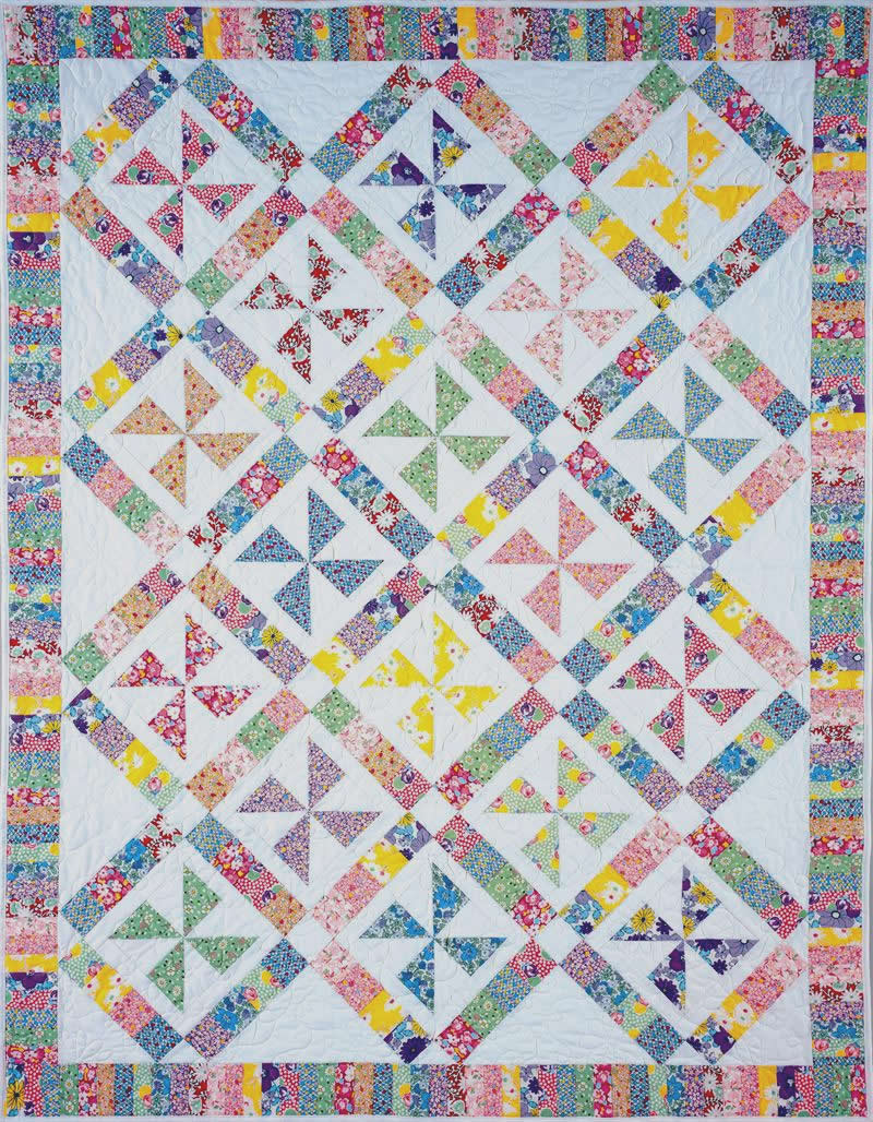Pinwheels Of Yesteryear Quilt Pattern Bc 105 Intermediate