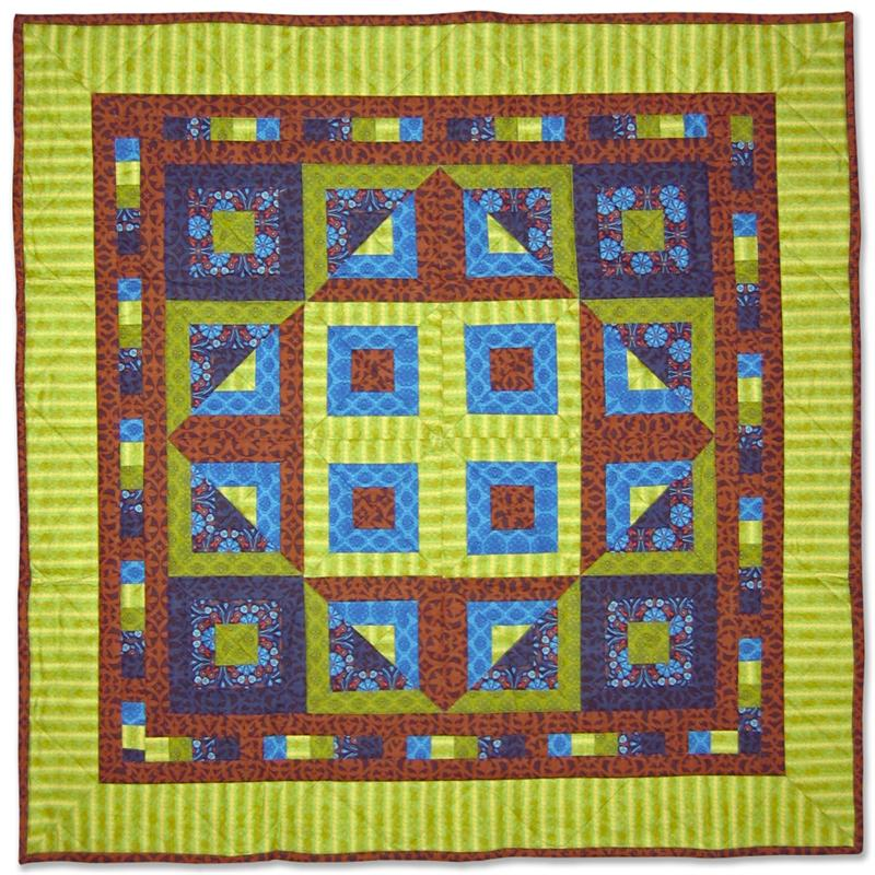 Quilt Patterns From Squares : Magic Square Quilt Pattern BC-208