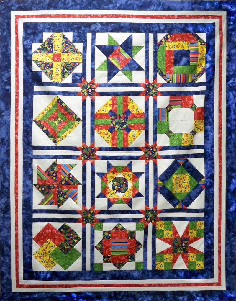 Intermediate Quilting Patterns : Introduction to Intermediate Quilting Pattern
