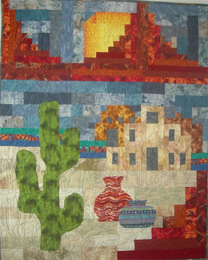 Classic Southwest Quilt Pattern