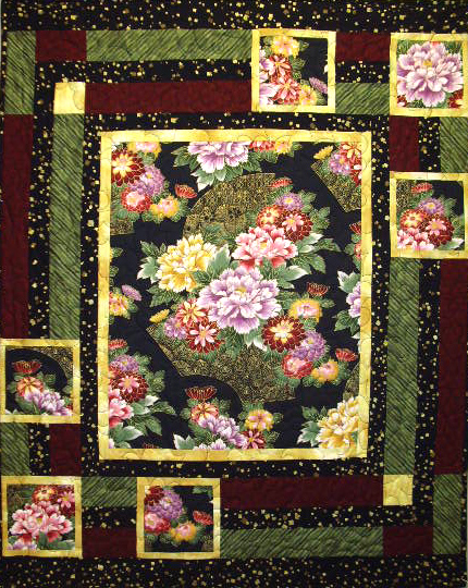 Trophy Case Quilt Pattern Bs2 224 Lap Throw Wall Hanging Beginner