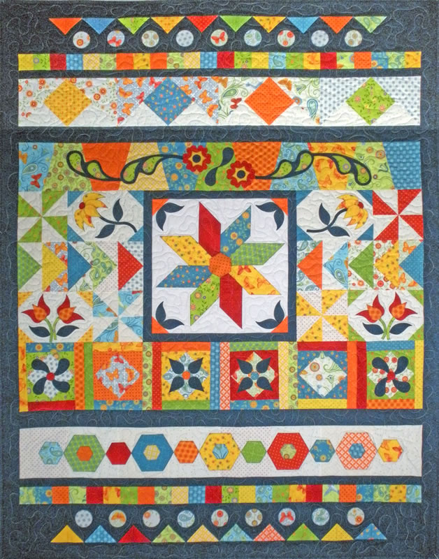Let's GO Sampler Quilt Pattern Stunning Sampler Quilt Patterns