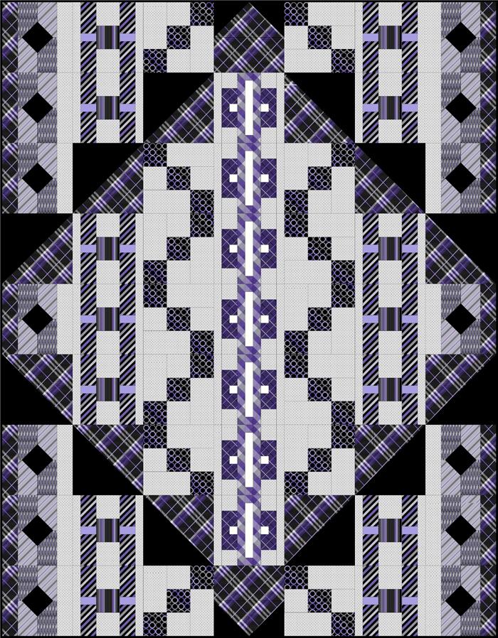 Necktie Quilt Patterns For Beginners : Black Tie Optional Quilt Pattern BS2-396 (advanced beginner, lap and throw)