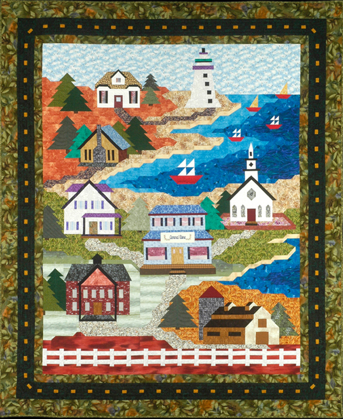 All Roads Lead to the Sea Quilt Pattern CC-501 (advanced beginner ... : all quilts - Adamdwight.com