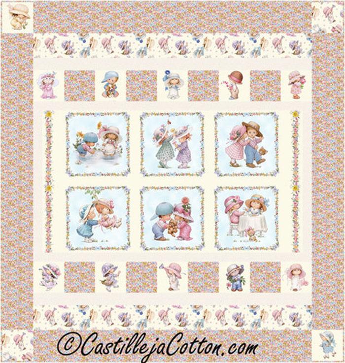 Sunbonnet Emma Quilt Pattern CJC-48061 (advanced beginner, baby) : emma quilt pattern - Adamdwight.com