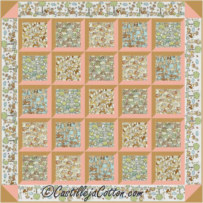 Window View Quilt Pattern Keepsake Quilting : Window View Quilt Pattern CJC-48471 (advanced beginner, baby)