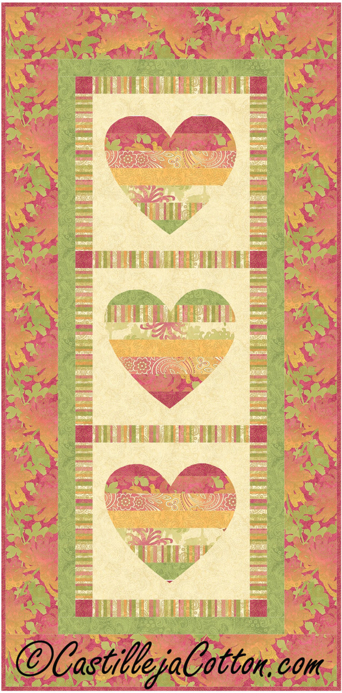 St. Valentine\'s Day Quilt Patterns (Wall hangings)