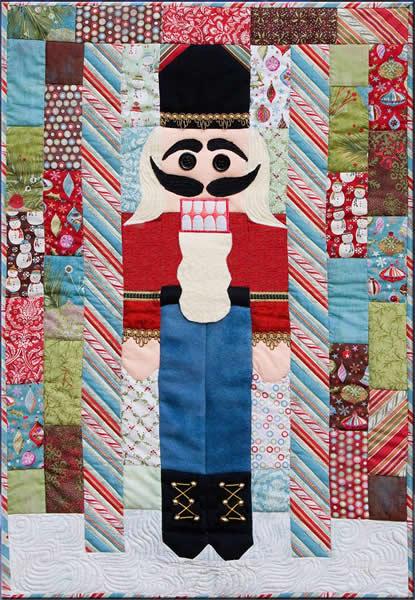 Nutcracker Sweet Quilt Pattern CQA-201 (beginner) : nutcracker quilt - Adamdwight.com