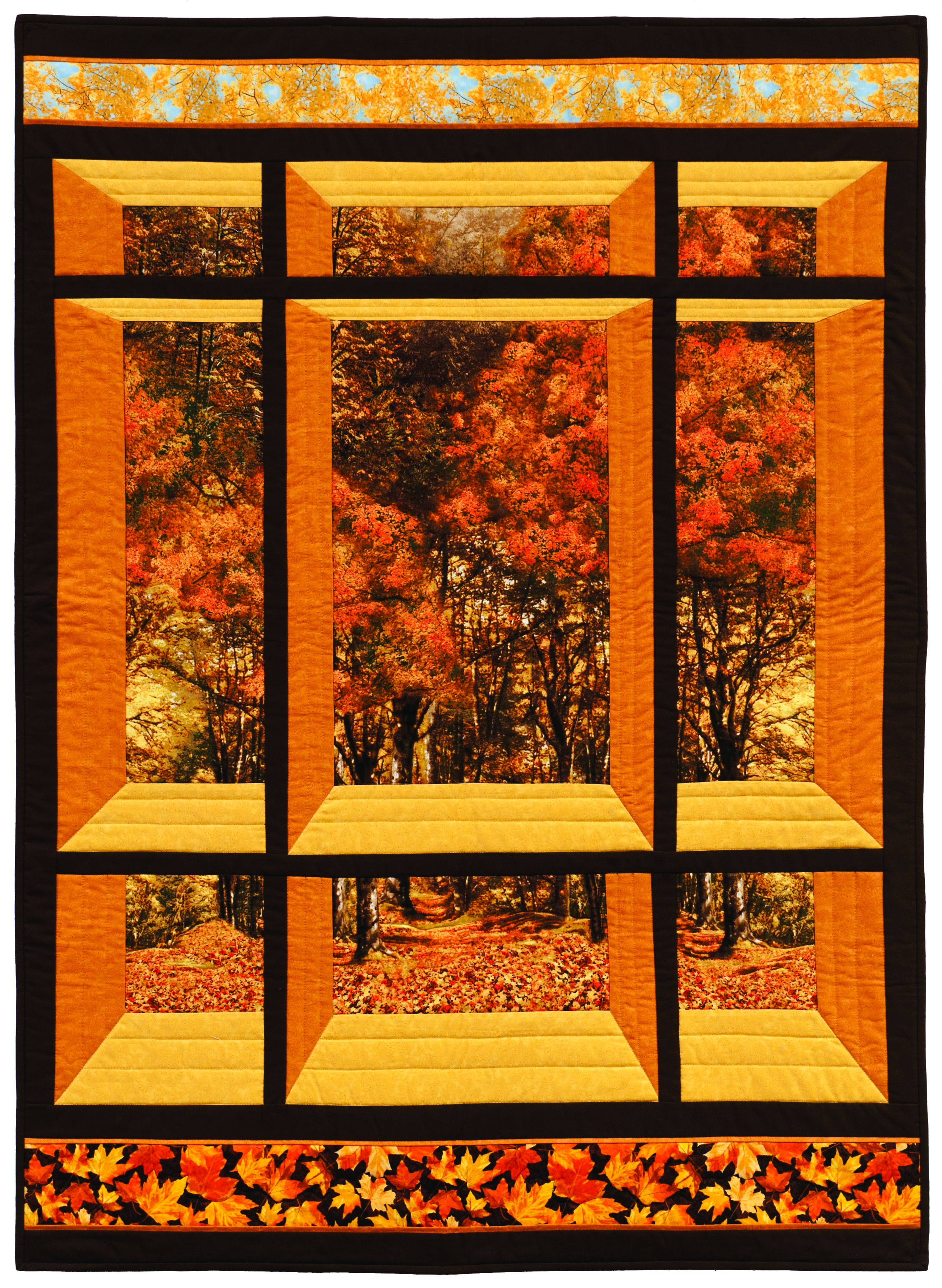 Window On The East Quilt Pattern Cs 01