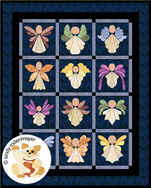 Angels Quilt Pattern FCP-005 (lap, throw, applique) : quilt patterns pictures - Adamdwight.com