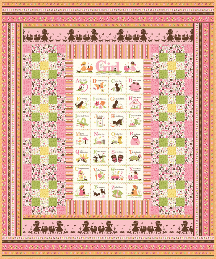 Sugar Spice Quilt Set Pattern Gtd 114 Intermediate Crib Quilt