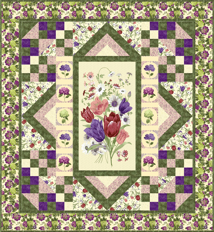 Quilt Patterns For Mother S Day : Mom, I Love You Quilt Pattern GTD-119 (intermediate, king)