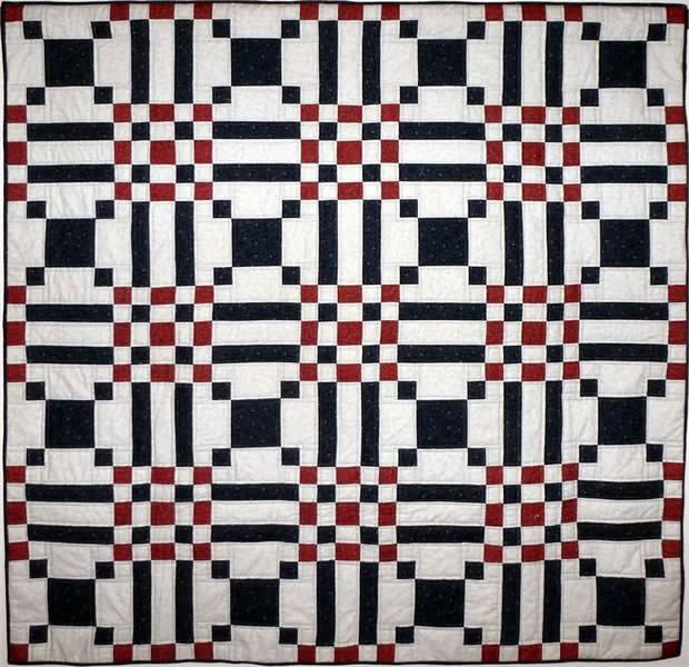 playing checkers quilt pattern - 620×600