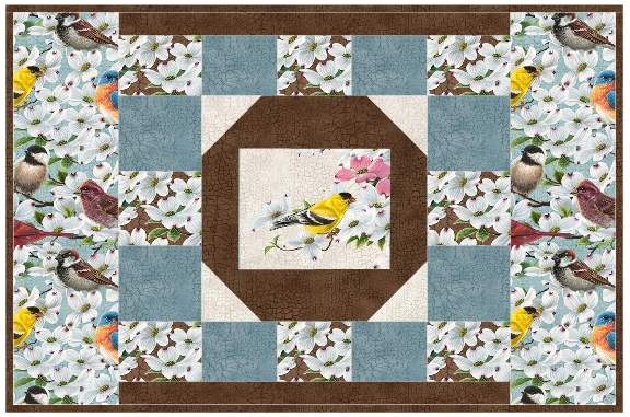 table Pattern Runner book 113 Placemats quilt NDD  Table runner & Quilt Panel pattern
