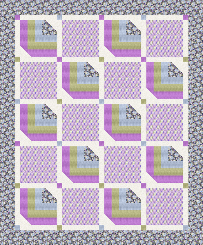 Run For The Roses Quilt Pattern Ndd 145 Advanced Beginner Lap And