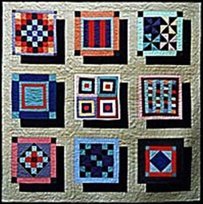 Floating Amish Quilt Pattern AA-06