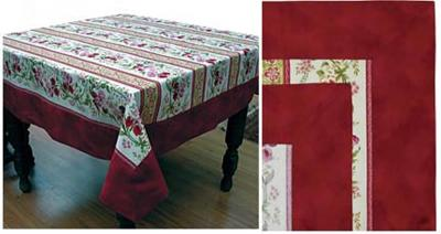 On the Edge Tablecloth Pattern AA-12