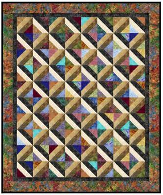Marble Pools Quilt Pattern AA-20