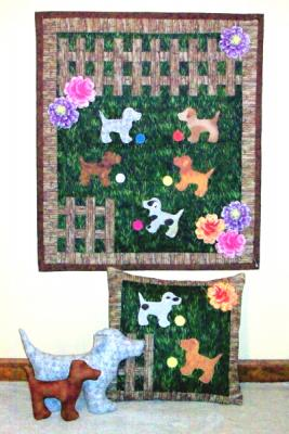 Puppy Play Yard Quilt Pattern AV-103