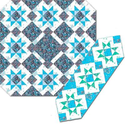 Summer Nights Quilt Pattern AW-07