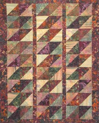 Batik Diamonds Quilt Pattern BS2-206