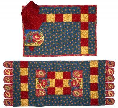 Flap Jack Placemat and Table Runner Pattern BS2-280