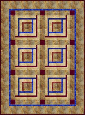 Tidal Wave Quilt Pattern BS2-307