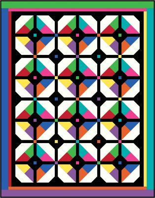 Hypnosis Quilt Pattern BS2-310