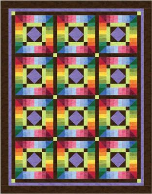 Colors in the Round Quilt Pattern BS2-323