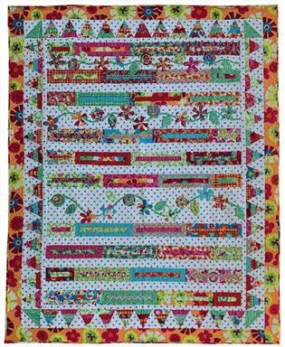 What a Lot of Flowers! Quilt Pattern CDB-111