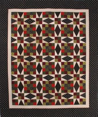 Vintage Cross Quilt Pattern CMQ-103