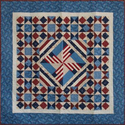 Pinwheel Flags Quilt Pattern CMQ-118
