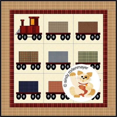 All Aboard! Quilt Pattern FCP-008
