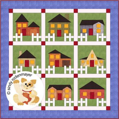 Be My Neighbor Quilt Pattern FCP-010