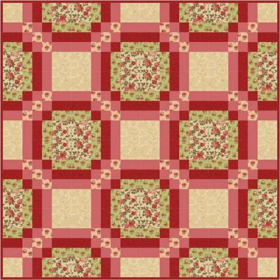 Bradford on Avon Quilt Pattern FHD-122