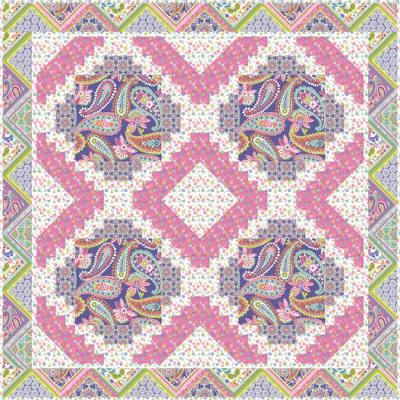 Field of Flowers Quilt Pattern GTD-103