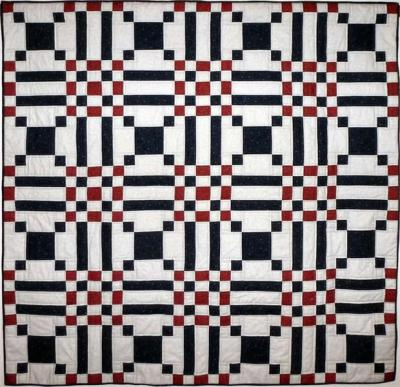 Checkered Path Quilt Pattern HQ-201