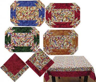 Table Graces Placemat, Napkin and Tablecloth Pattern JD-01