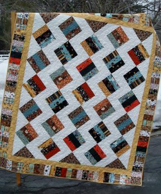 Jelly Brique Quilt Pattern LLD-029