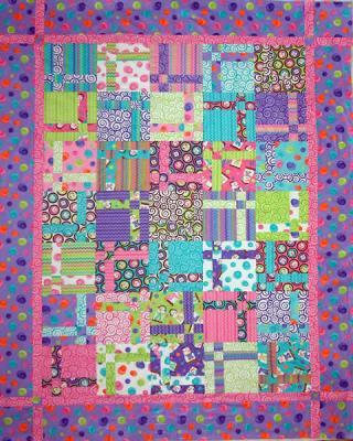 Hopscotch Quilt Pattern Lob 113 Beginner