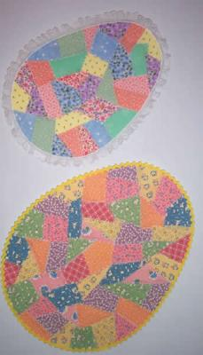 Easy Crazy Easter Eggs Quilt Pattern NDD-104