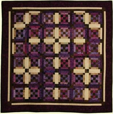 Twilight Grace Quilt Pattern PAD-116e (instant download)
