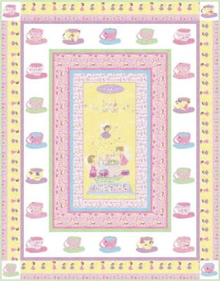 Tea Party Quilt Pattern PC-112