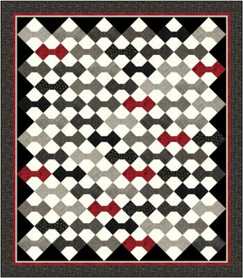 Wall Street Wardrobe Quilt Pattern PC-122