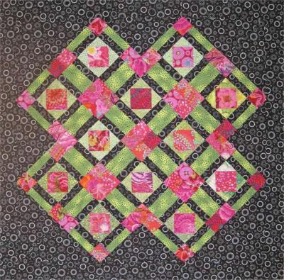 Think Pink Quilt Pattern - Straight to the Point Series - SM-122