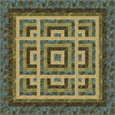 Tranquil Evening Quilt Pattern SM-142