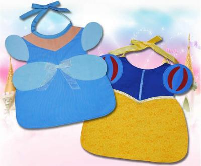 Blue and Puff Sleeve Bibs Pattern ST-105