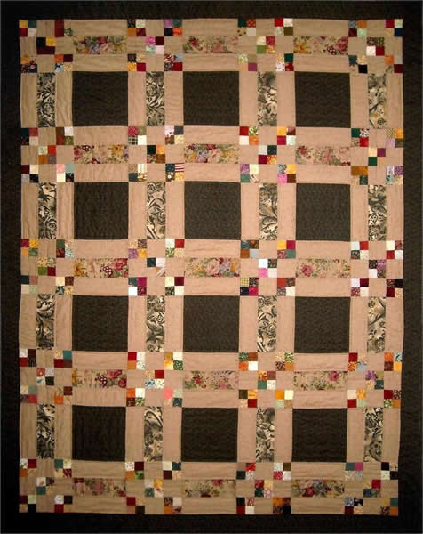 Dennys Hopscotch Quilt Pattern Ps 902 Beginner Lap Throw